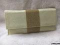 Latest Designer Stone Work Jute Clutch Bag