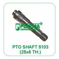 P.T.O. Shaft 5103 25x6 Green Tractor