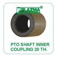 P.T.O. Shaft Inner Coupling 20 TH. Green Tractor