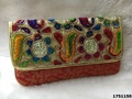 Designer Brocade Evening Clutch Bag