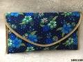 Designer Floral Print Clutch Bags