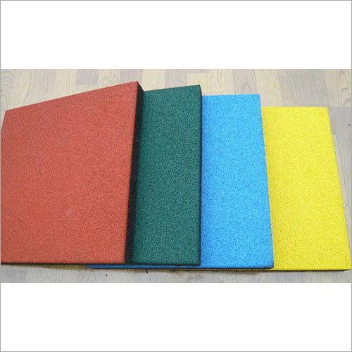 Multicolor Gym Rubber Tiles
