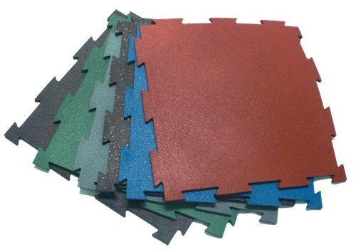 Rubber Interlocking Flooring