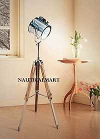 Nautical Designer Tripod Floor Lamp Lighting Spot Light Home Decor