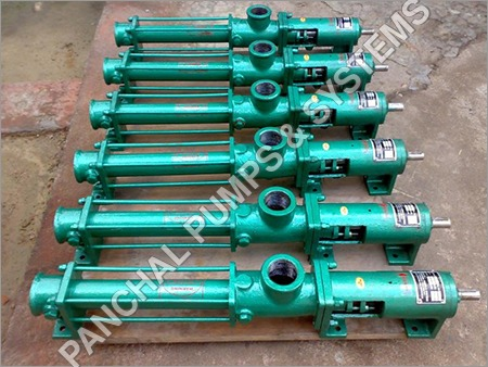 Slurry Pump / ETP - WTP Sludge Pump / Progressive