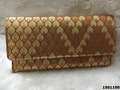 Adorable Style Of Brocade Clutch Bag With Sling