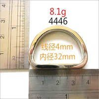 32mm Zinc Alloy D Rings