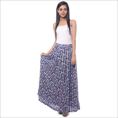 Printed Long Skirts