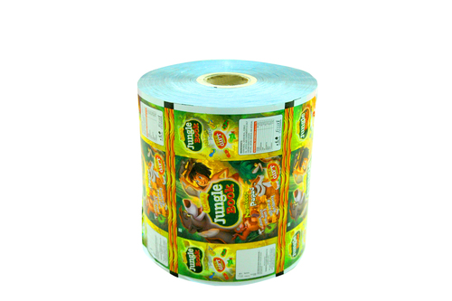 Snacks Laminate Packing Roll