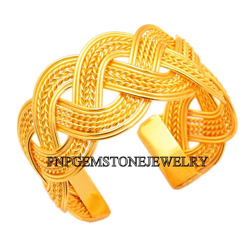 Gold Plated Cuff Bracelets