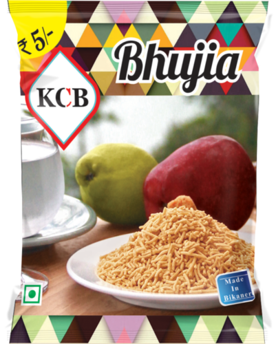 Bhujia Packing