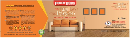 Wall Passion Heat Transfer Application