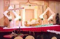 Modern Wedding Stage Backdrop Panels Decoration
