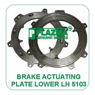 Brake Actuating PLate Lower LH 5103 John Deere