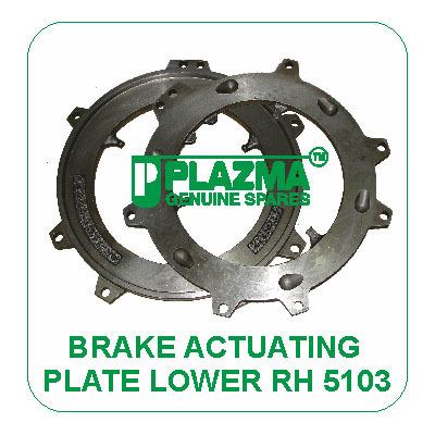 Brake Actuating PLate Lower RH 5103 John Deere