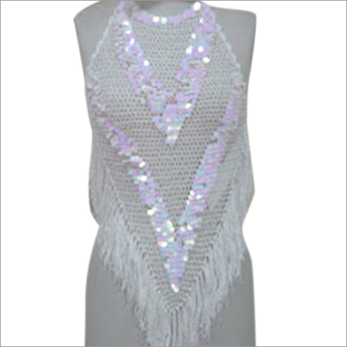 Crocheted Long Top