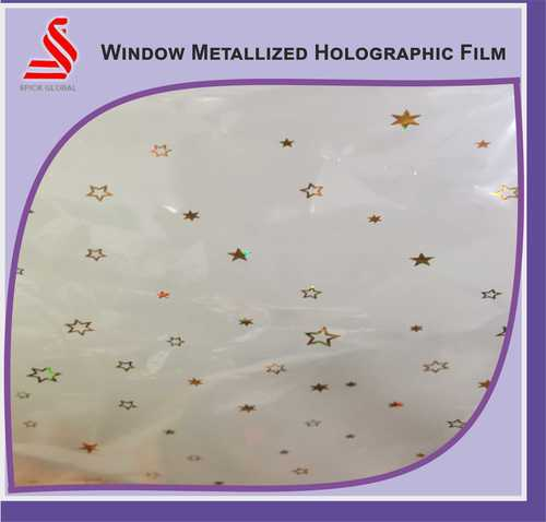 De metaliised Films Holographic