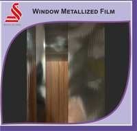 Window Metallised Silver Films