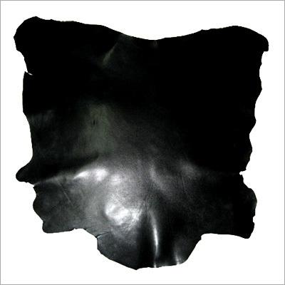 Finished Black Leather
