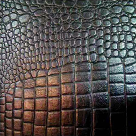 Crocodile Print Leather