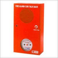 Fire Alarm Talk Back Unit
