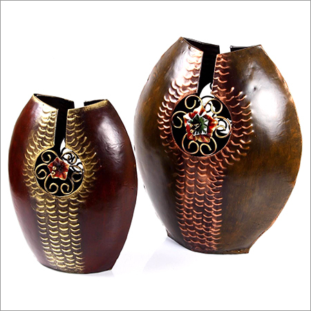 Metal Iron Flower Vase Flower Pot