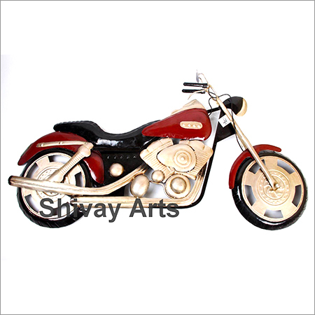 Metal Bike Wall Decor