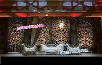 Wedding Stage Flower Panels Decoration