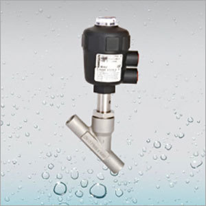 Pneumatic Welding Angle Piston Valve