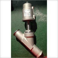 Stainless Steel Thread Angle Piston Valve