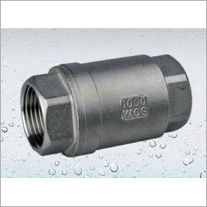 Stainless Steel Vertical Type Check Valve