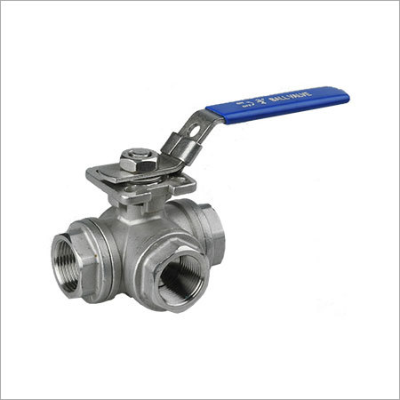 3 Way Threaded Ball Valve
