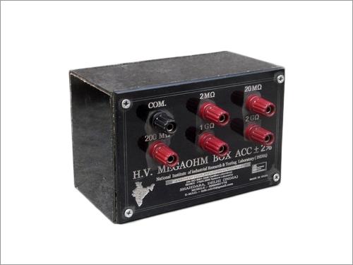 High Voltage Megohm Meters