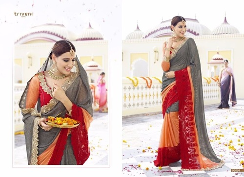 Beautiful Shaded Designer Saree