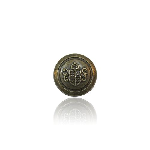 White Gold Button