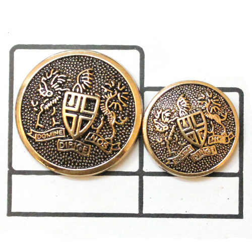 King style Fancy Metal Button