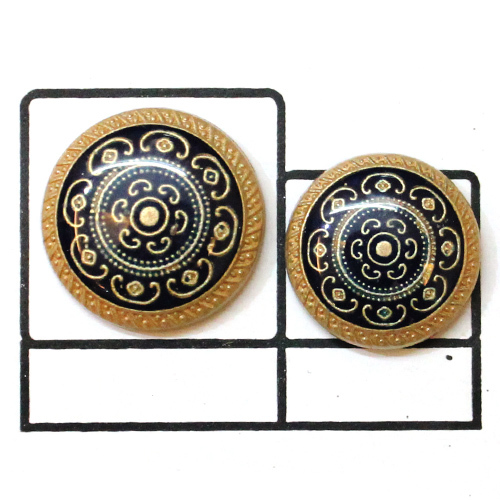 Swarovski Designer Metal Button