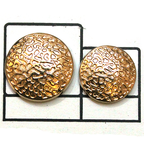 Gold plating Metal Button