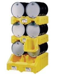 Poly Rack Drum Storage