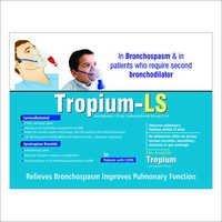 Ipratropium Bromide Levosalbutamol Respules