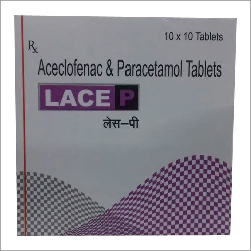 Aceclofenac 100mg Paracetamol 325 mg Tablet