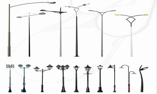 Road Light Poles