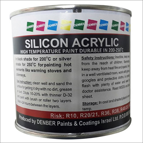 Silicone Acrylic High Temperature Paint