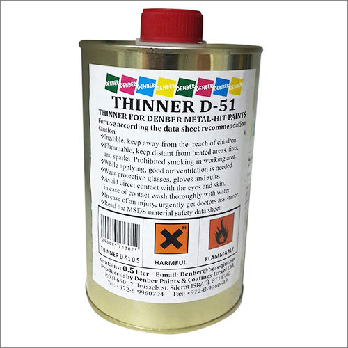 Metal Hit Paint Thinner