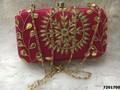 Adorable And Stylish Gota Patti Box Clutch