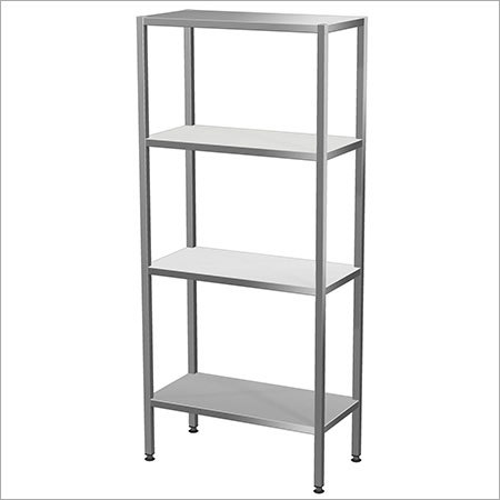 Rack With 4 Shelves