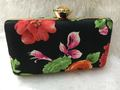Sensational And Beautiful Floral Print Box Clutch