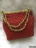 Latest Designer Embroidred Beaded Sling Potli Bag