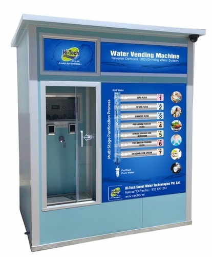 500 lph Water vending machine