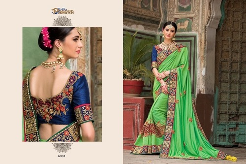 Heavy Bridal Designer Saree